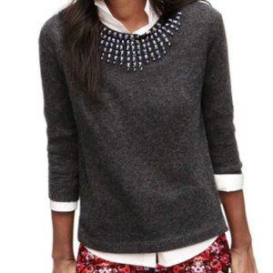 J. CREW Jeweled Starburst Embellished Sweater KK20